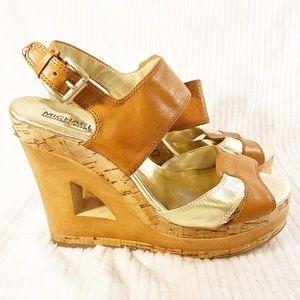 💙2/$60💙 Michael Kors Platform Wedge Sandals